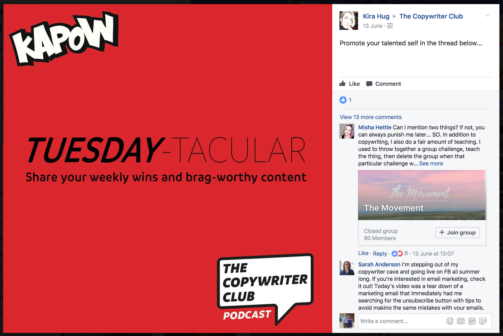 "grow your facebook group with theme days "" width=""400"" height=""268"