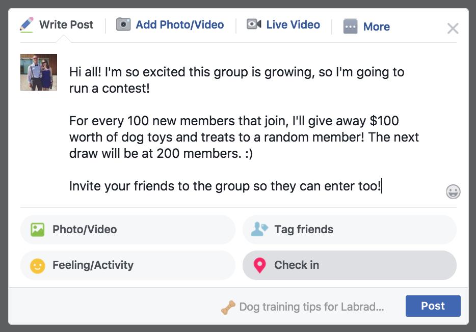 """Développez votre concours de groupe Facebook """"width ="""" 700 """"height ="""" 489"""
