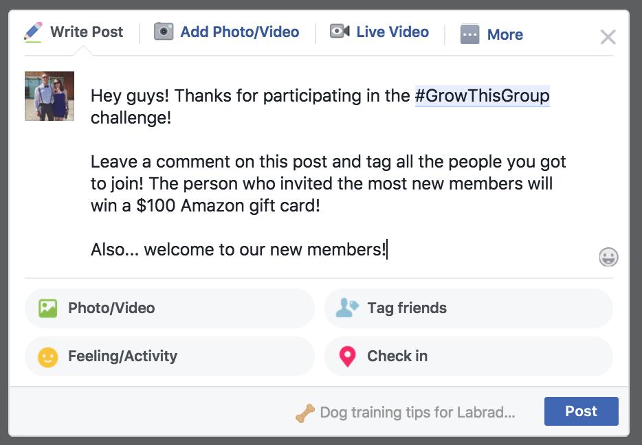 """Développez votre groupe Facebook avec un concours """"width ="""" 700 """"height ="""" 486"""