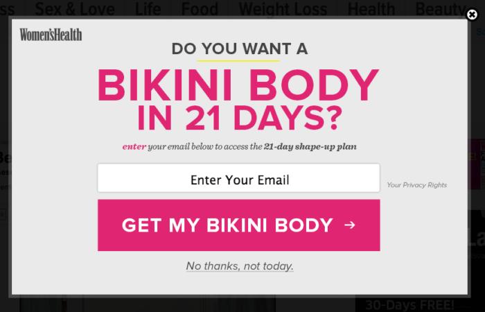 22 Ejemplo de psicología del color del cuerpo del bikini