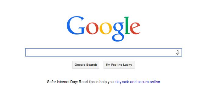 Ejemplo de 25 psicología del color de Google