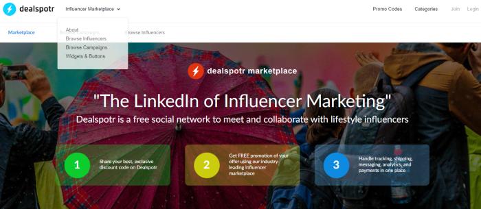 Swaypay DealSpotr Influencer Marketing para comercio electrónico