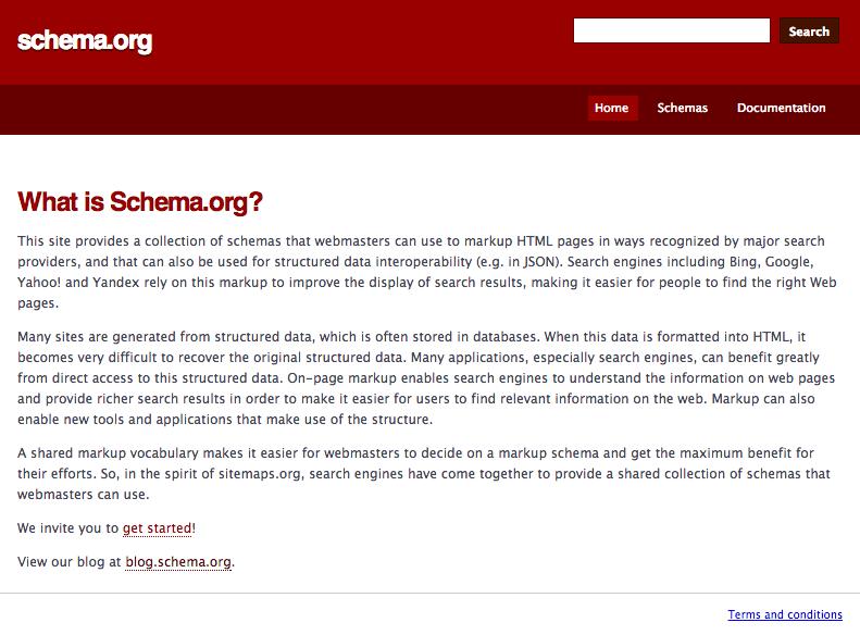 que es schema.org