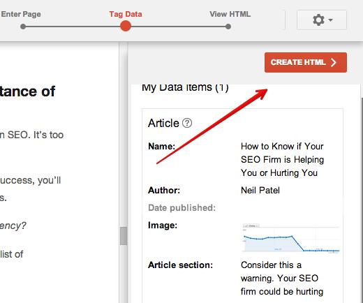 crear html para esquema para SEO