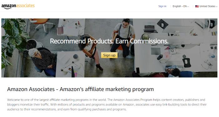 Principales socios de Amazon