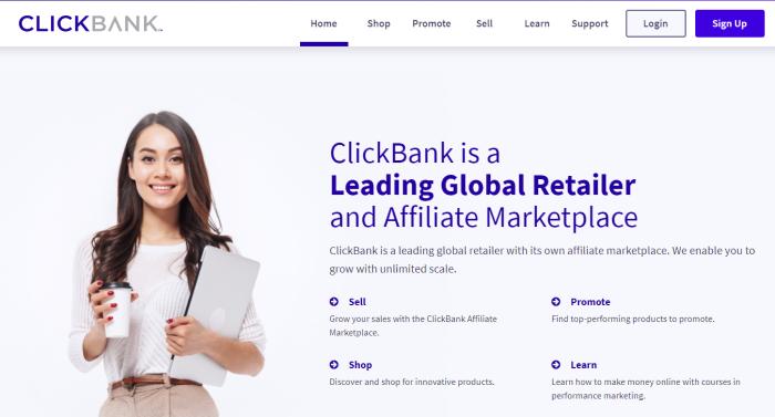 Principales redes de afiliados de ClickBank