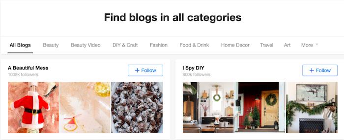 Alternativas a Google Reader Bloglovin