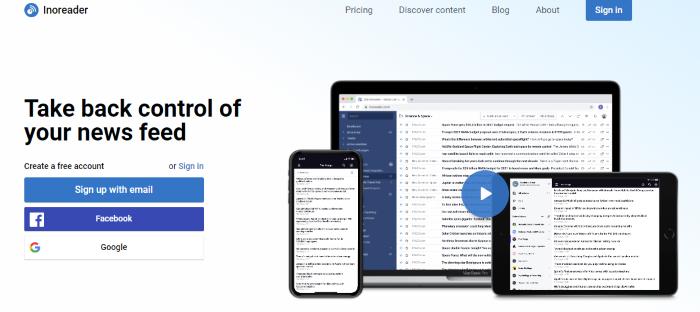 alternativa a google inoreader reader