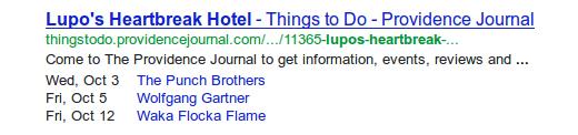 esquema de resultados de búsqueda de google para seo