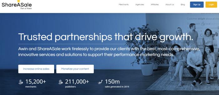 Las mejores redes de afiliados de ShareASale