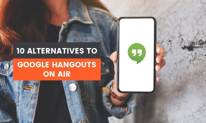 10 alternativas a Google Hangouts en vivo