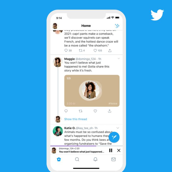 Tweets de voz - Marketing de Twitter Voice SEO