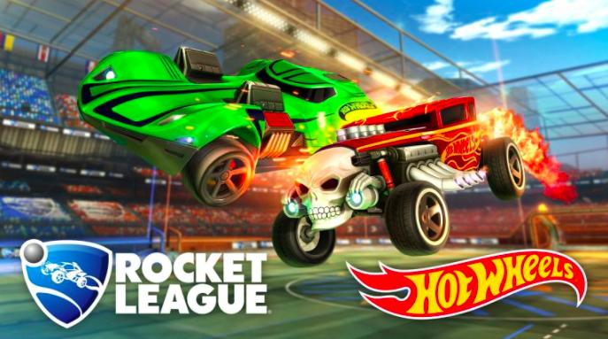 juegos como servicio hotwheel y colocación de anuncios de rocket league