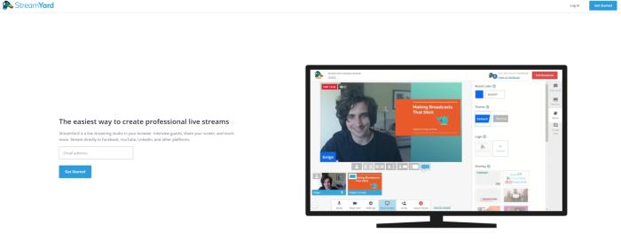 Google Hangouts on Air, alternativa a Streamyard