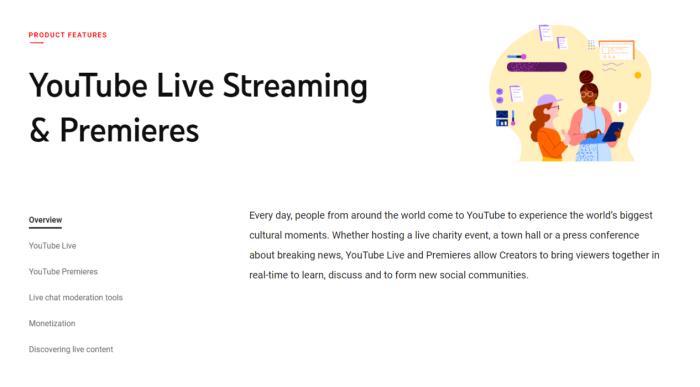 Google Hangouts Live, alternativa a YouTube Live