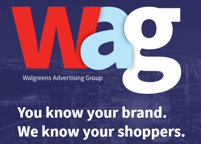 Muestra de medios minoristas de Walgreens