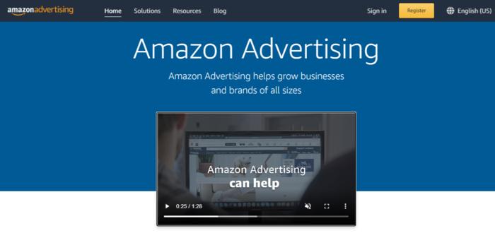 Marcas con redes de medios minoristas de Amazon Advertising