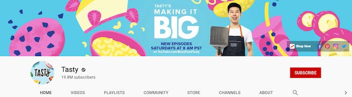 Auditoría de YouTube Diseño de marca Marketing visual
