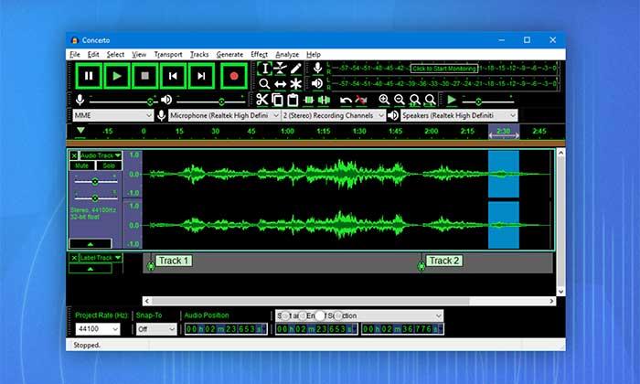Audacity: gran software de podcast gratuito para principiantes