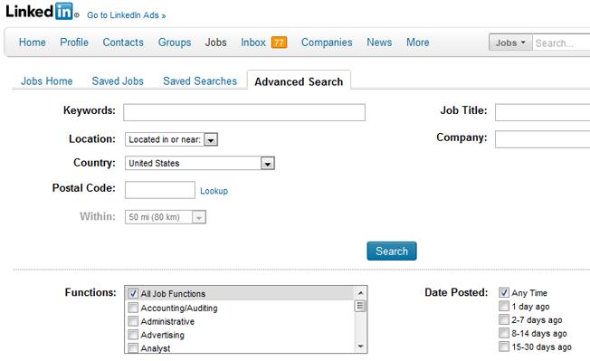 motores de búsqueda avanzados y alternativos alineados en la búsqueda de empleo