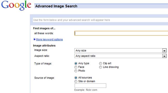 motores de búsqueda avanzados y alternativos búsqueda de imágenes de google