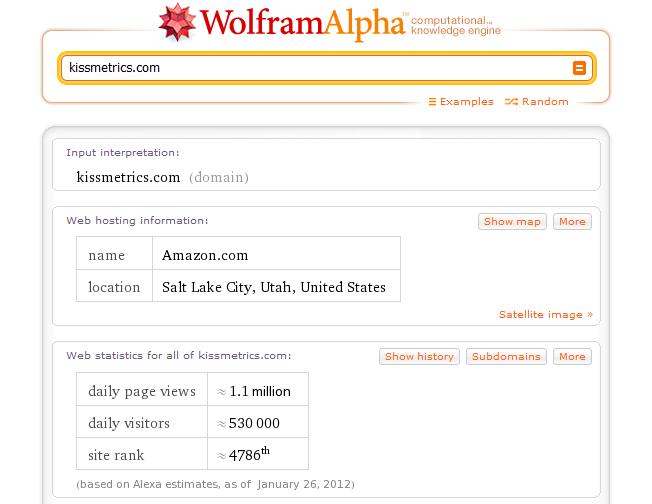 motores de búsqueda avanzados y alternativos wolframalpha
