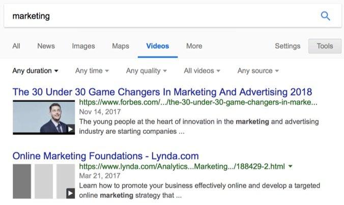 motores de búsqueda avanzados y alternativos búsqueda de videos de google