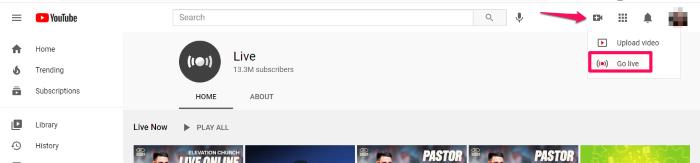conexión de leads de youtube