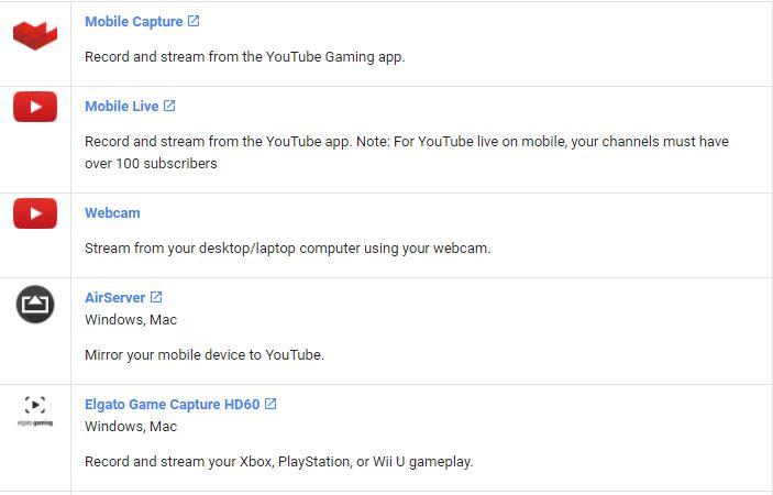 obtener ejemplos de codificadores de clientes potenciales de youtube.