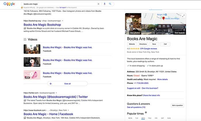 empresas en google plus