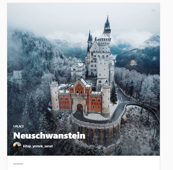 Lugares de la guía de Instagram