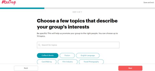 Cómo elegir temas para su grupo en Meetup: una alternativa a los grupos de Yahoo