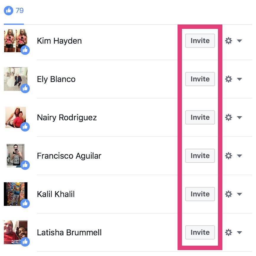 """Invite a la gente a que le guste su página de Facebook """"width ="""" 651 """"height ="""" 651"""