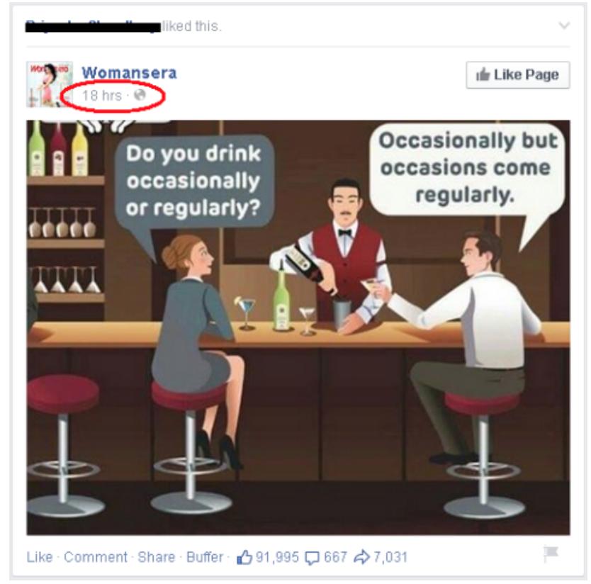"""Aumente el alcance orgánico de Facebook con contenido Evergreen de muestra """"width ="""" 626 """"height ="""" 618"""