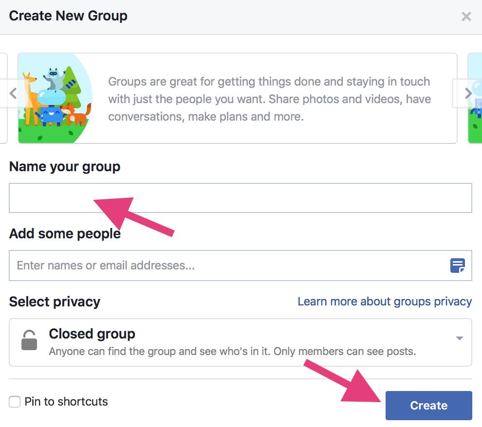 """Utilisez les groupes Facebook pour accroître la portée organique de Facebook """"width ="""" 700 """"height ="""" 640"""