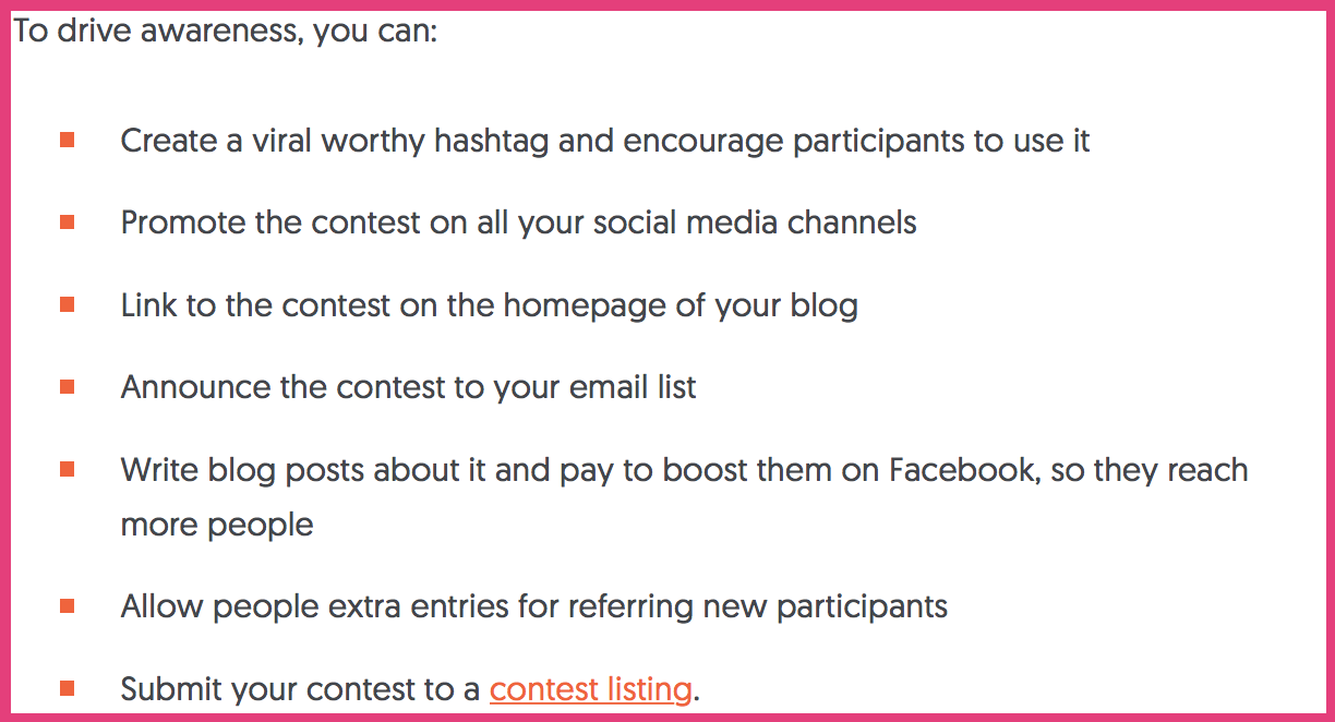 """how to promote a contest to increase facebook organic reach """" width=""""612"""" height=""""331"""