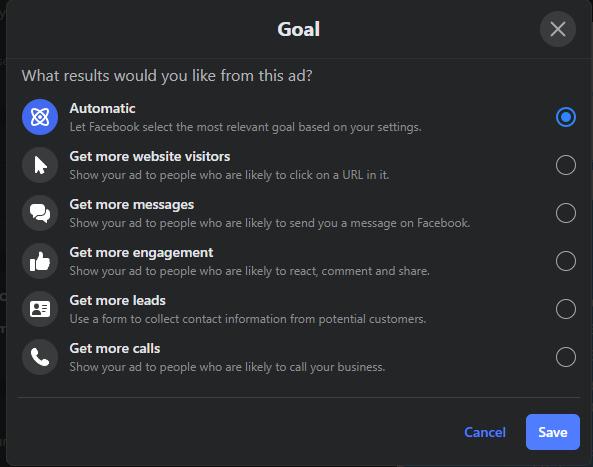 "facebook organic reach ads set goal"" class=""wp-image-102539"" srcset=""https://improvvisa.es/wp-content/uploads/2021/01/1611173772_94_20-secretos-para-impulsar-su-audiencia-organica-en-Facebook.png 593w, https://neilpatel.com/wp-content/uploads/2021/01/drive-facebook-organic-reach-goals-350x276.png 350w"" sizes=""(max-width: 593px) 100vw, 593px"
