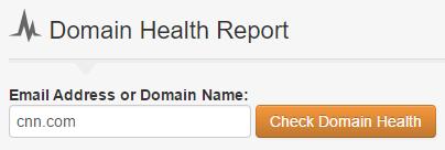 mejorar el informe de salud del dominio de clasificación de Google