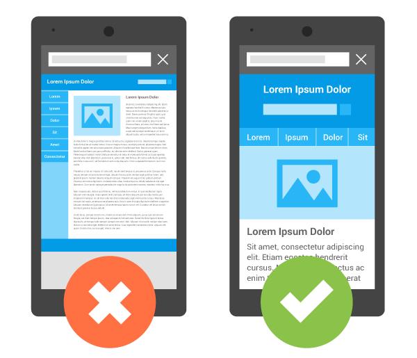 mejorar el ranking de Google ser compatible con dispositivos móviles