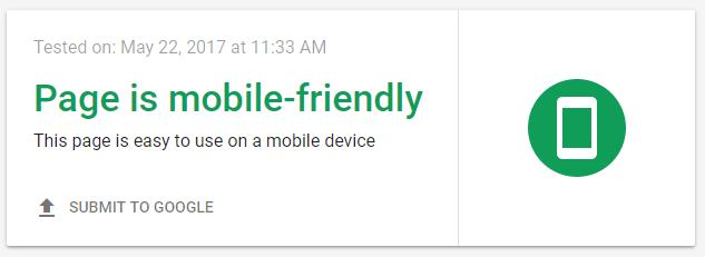 Mejora la prueba de clasificación de Google para dispositivos móviles.