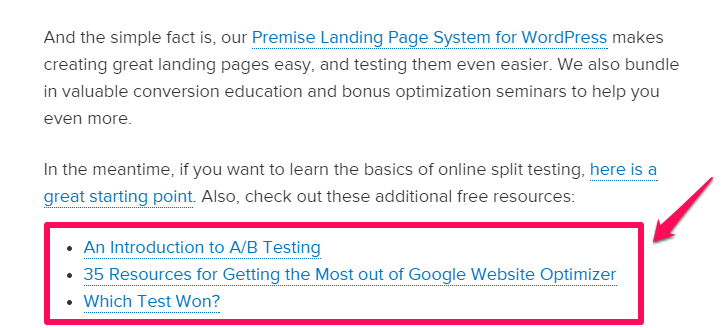 "improve google rakings example of links "" width=""546"" height=""246"