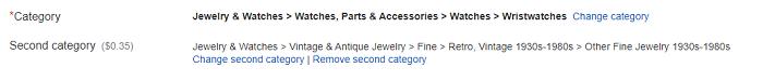 SEO de eBay: utilice las categorías de artículos de eBay adecuadas
