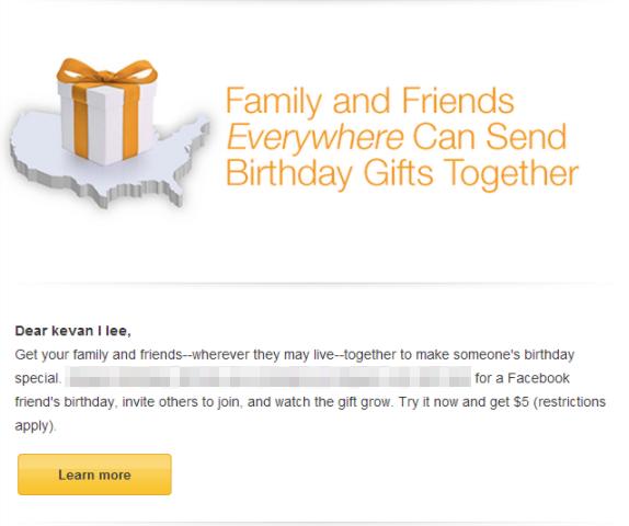 poder de muestra marketing por correo electrónico personalizado