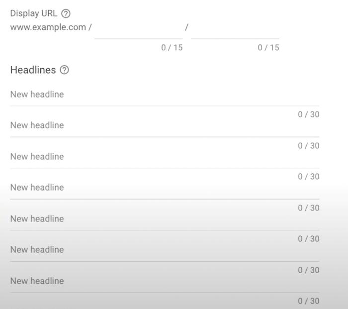 Anuncios adaptables en la red de búsqueda: cree sus titulares