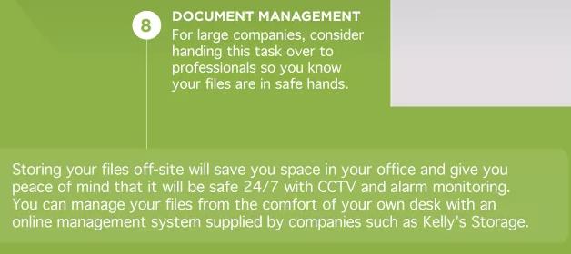 Almacenamiento de documentos fuera del sitio para pequeñas empresas