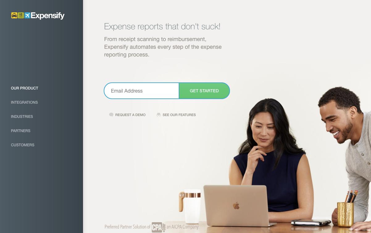 Organización de pequeñas empresas: software de informes de gastos