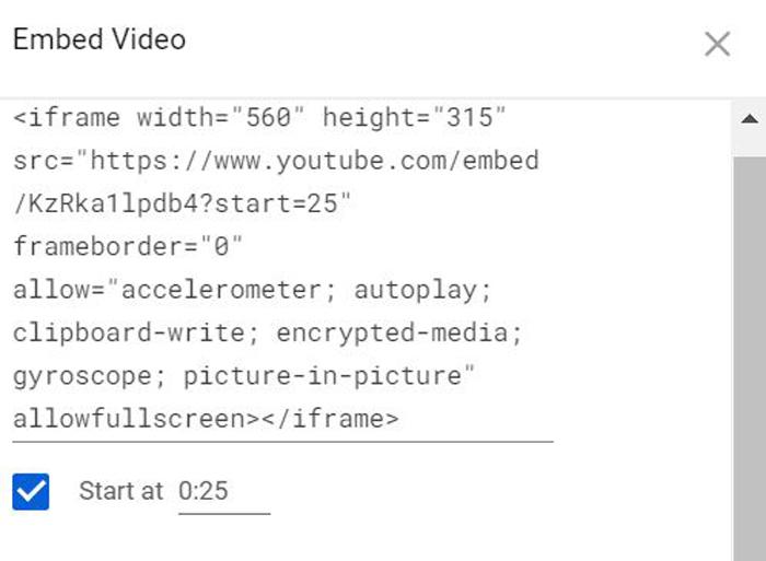 Insertar videos: cómo codificarlos