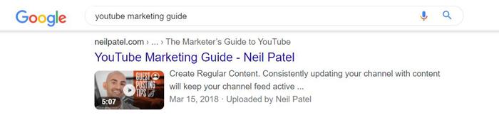 Insertar videos: ¿cómo mejoran la búsqueda?