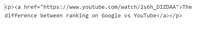 Insertar videos - código HTML