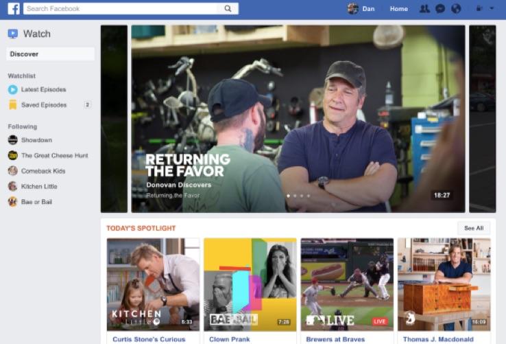 marketing de contenidos mike rowe muestra facebook